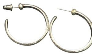 Brighton Brighton silver hoop earrings