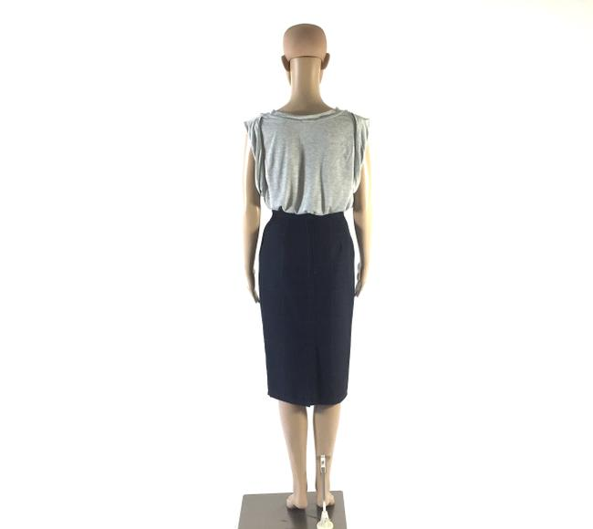 Vertigo Paris Designer Pencil Small Skirt Navy Blue Image 1