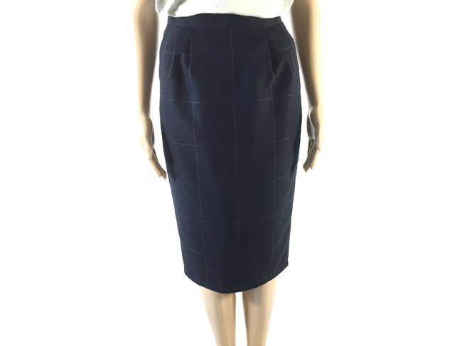 Vertigo Paris Designer Pencil Small Skirt Navy Blue Image 2
