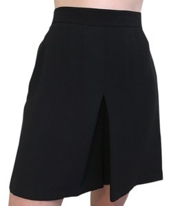 Valentino Dress Silk High-waist Dress Shorts Black