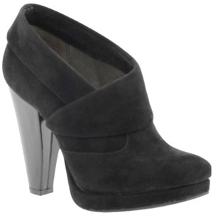 Kenneth Cole Reaction Bootie Chunky Blac Boots