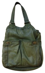 Marc by Marc Jacobs Leather Tote in Olive Green