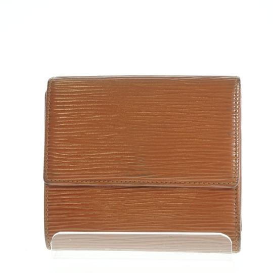 Louis Vuitton LOUIS VUITTON Three-fold Wallet (Coin There Pocket) Epi Leather Image 1