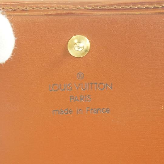 Louis Vuitton LOUIS VUITTON Three-fold Wallet (Coin There Pocket) Epi Leather Image 6