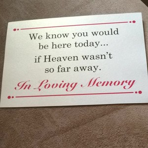 2Cute White Black and Fuchsia Memorial Sign Other