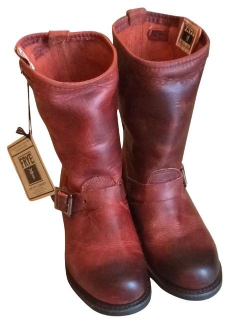 Item - Bud Burnt Red 77400 Boots/Booties Size US 7.5 Regular (M, B)