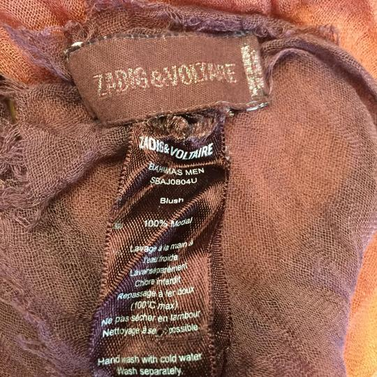 Zadig & Voltaire Zadig and Voltaire Bahamas Blush Scarf Image 1