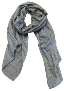 Louis Vuitton Louis Vuitton Grey Silk Scarf