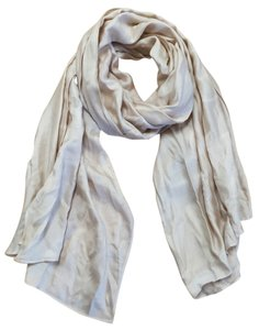 Louis Vuitton Louis Vuitton Taupe Silk Scarf