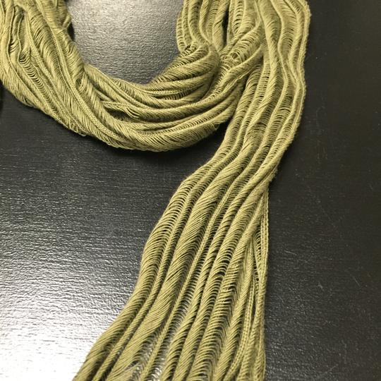 Dior LOWERED PRICE DIOR Homme Green Cotton Scarf Image 2