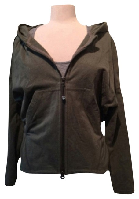 Item - Heathered Fatigue Green Hold Your Om Activewear Outerwear Size 4 (S, 27)