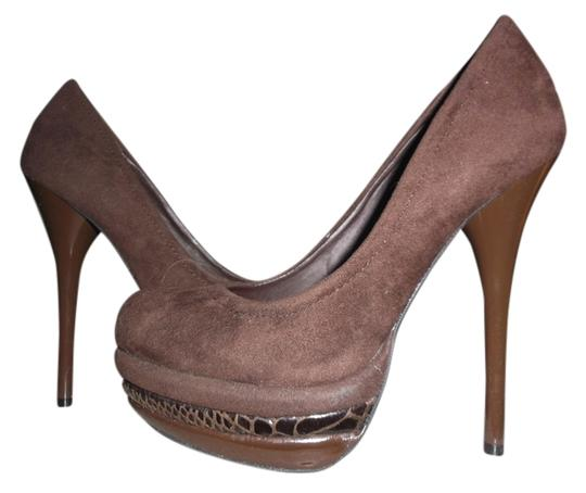 Preload https://img-static.tradesy.com/item/10820956/fusion-jeans-brown-stiletto-faux-suede-sexy-5-12-platforms-size-us-55-regular-m-b-0-2-540-540.jpg