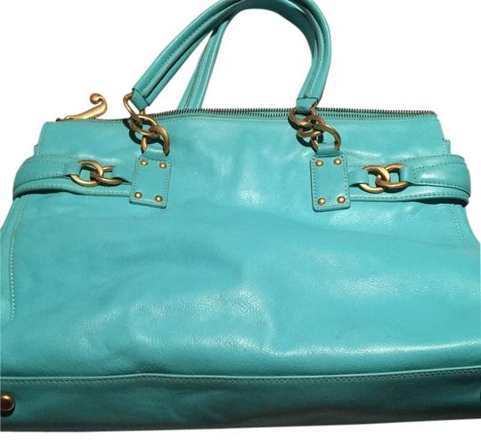 juicy couture teal tote bag totes on sale. Black Bedroom Furniture Sets. Home Design Ideas