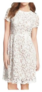 Adrianna Papell Bridal Shower Bride Lace Dress