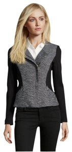 Rebecca Taylor Black and White Tweed Blazer/ Jacket