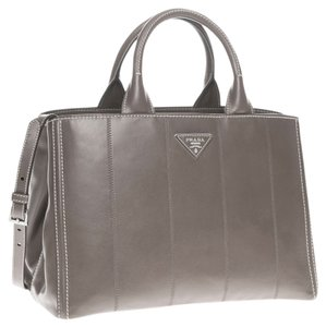 Prada With Receipt Tote in Prada Argilla - Clay