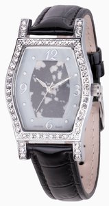 Croton NEW WITH TAGS!!! CROTON Genuine Stone Dial and Crystal Watch w/ Genuine Leather Strap