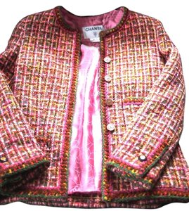 Chanel Tweed Classic pink Jacket