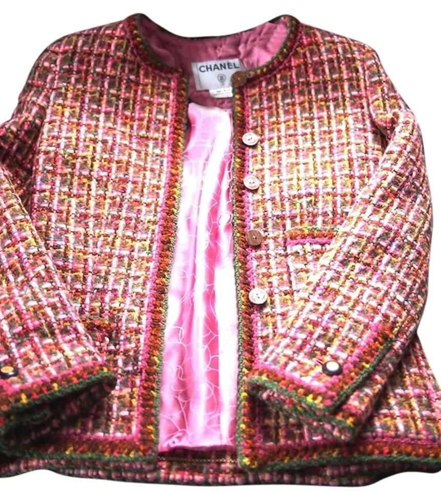 Chanel Tweed Jackets Up To 70 Off At Tradesy