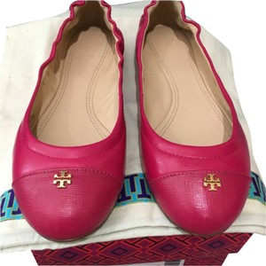 Tory Burch New kir royal pink Flats
