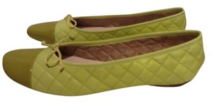 London Sole Never Worn Lime green Flats