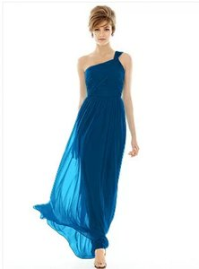 Alfred Sung Blue D691 Dress