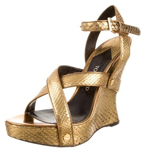 Tom Ford Gold Wedges