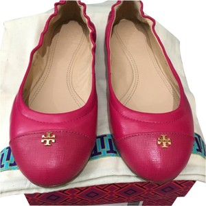 Tory Burch York Kir Royal Pink Flats