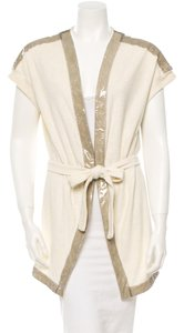 Chanel Chanel terry cap sleeve robe cover up