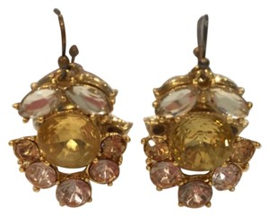 J.Crew Crystal Burst Earrings