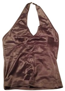 FormulaX Olive/silver metallic Halter Top