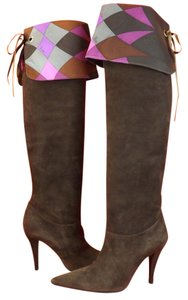 Emilio Pucci Brown Boots