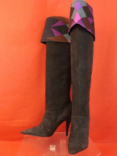 Emilio Pucci Brown Boots Image 4