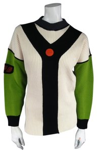 Jean-Paul Gaultier Vintage Color Block Jpg Sport Modern Rare Sweater