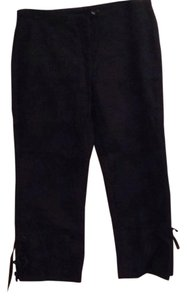 Express Capri/Cropped Pants Blac