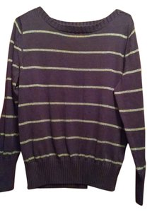 Sonoma Ladies L 12 14 Cotton Boatneck Sweater