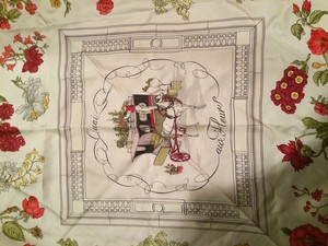 Hermès Beautiful hermes silk scarf