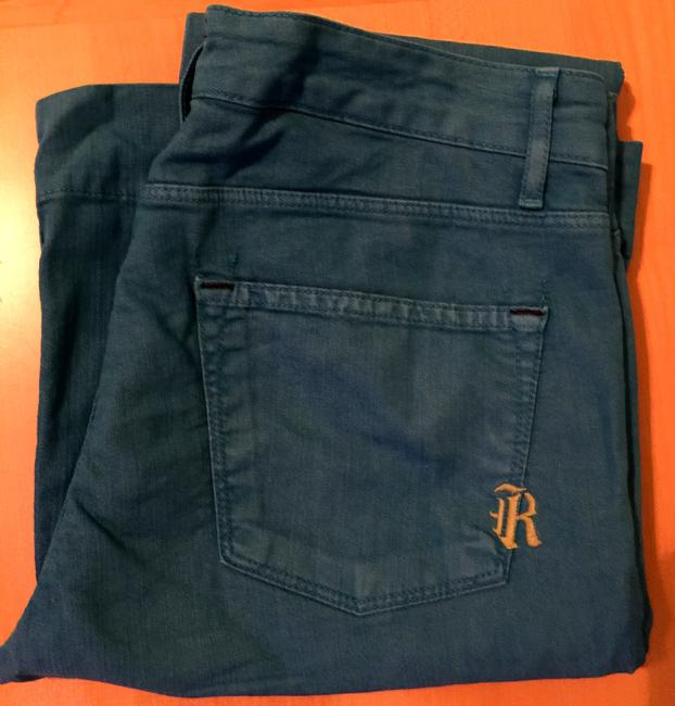 Rich & Skinny Turquoise And Spring Flare Leg Jeans Image 6