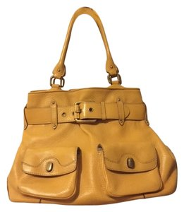 Cole Haan Tote in mustard yellow