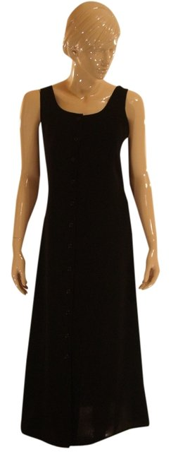 Item - Black Long Work/Office Dress Size 10 (M)