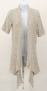 Alfani Tan Cream Cardigan B278 Sweater