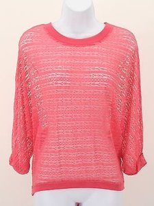 Kimchi Blue Coral Lace Dolman 34 Sleeve B278 Top