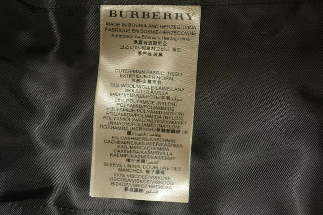 Burberry Wool New Trench Coat Image 8