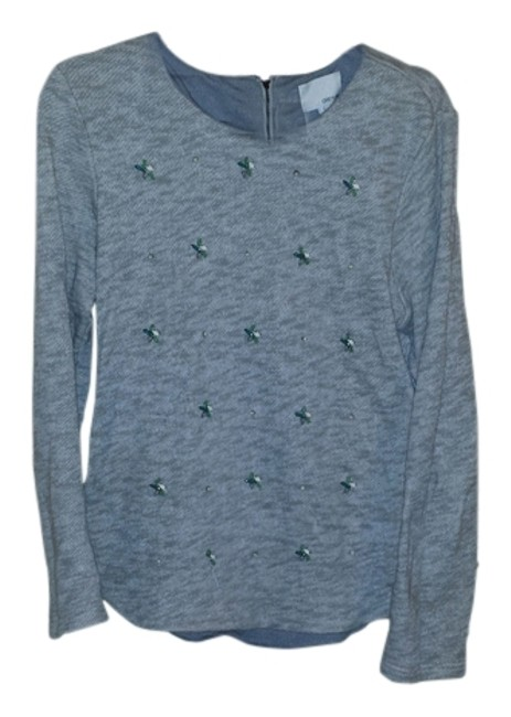 Preload https://img-static.tradesy.com/item/10826080/greylin-mareled-grey-sweaterpullover-size-12-l-0-1-650-650.jpg