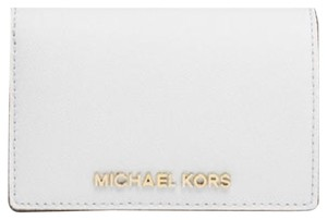 MICHAEL Michael Kors MICHAEL Michael Kors Medium Jet Set Travel Slim Saffiano Wallet New With Tags
