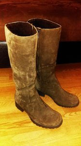 UGG Australia Winter Pretty Leather Brown Boots