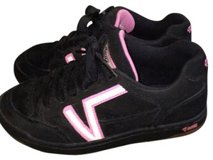 Vans Black with Pink Athletic