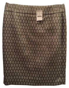 J.Crew Skirt Metallic Earth Tones