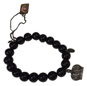 Juicy Couture Black Beads Bracelet