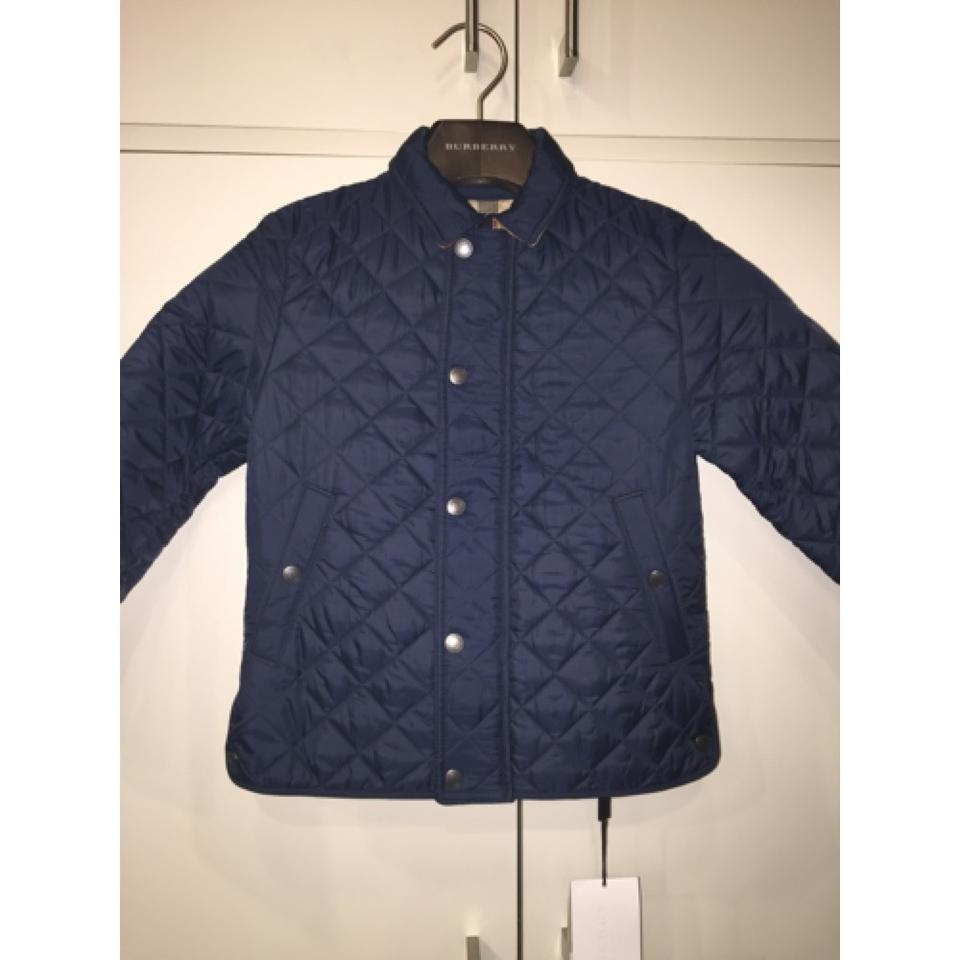 Burberry Navy Boys Luke Quilted Childrens Jacket Size 6 S Tradesy
